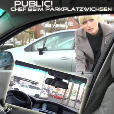 Neues Video schnuggie91: Public! Chef beim ParkplatzWichsen erwischt!
