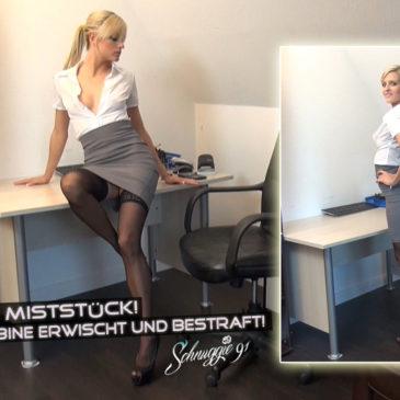 Video schnuggie91: Perverses Miststück! Notgeile Azubine erwischt…