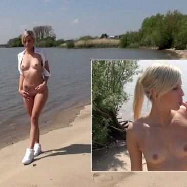 schnuggie91 neu: Arschfick am Strand! Cousin und Cousine…